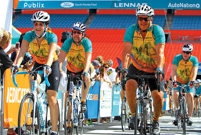 Going the distance: Florida executives share their passion for cycling