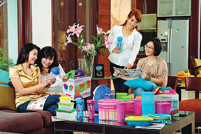 Sealing the deal: Tupperware empowers women across the globe