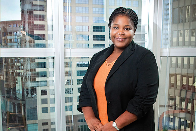 Attorney LaShawnda Jackson is driven to succeed