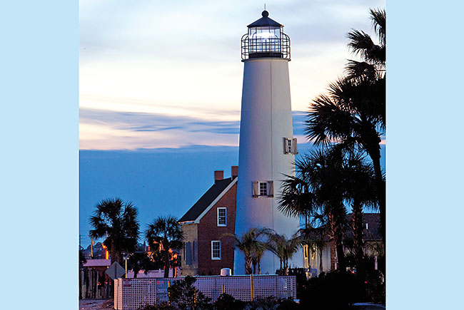 Lighthouse at St. George Island