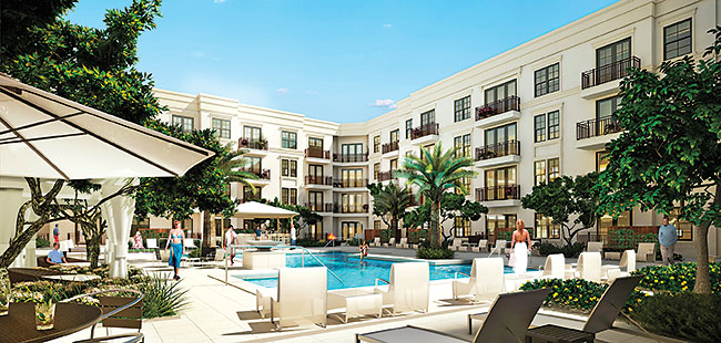 St. Petersburg's new apartments offer urban lifestyle