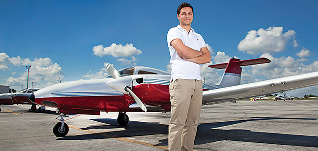 A wing and a payer: Flight schools in Florida