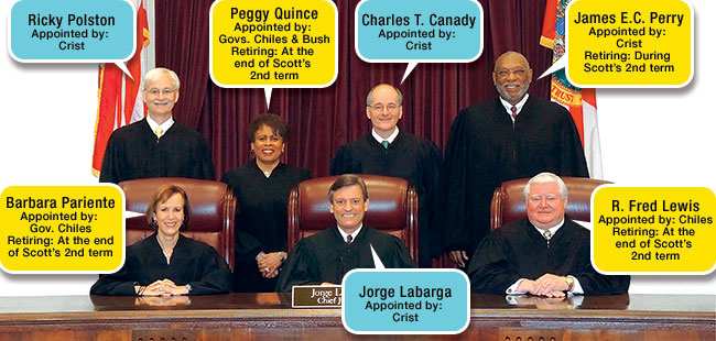 Florida's Supreme Court in transition