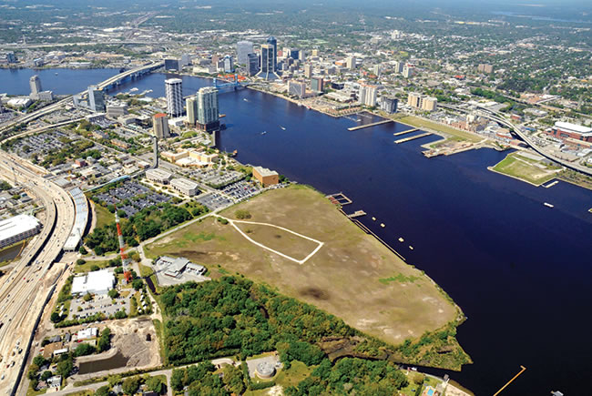 Changing the landscape in downtown Jacksonville