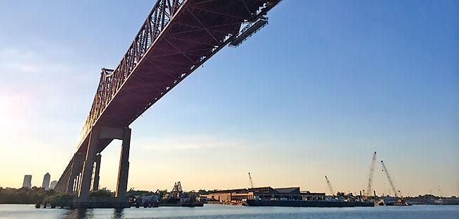 Fixer-upper: The Mathews Bridge in Jacksonville is repaired