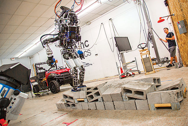 Cutting Edge: IHMC's million-dollar 'bot nabs DARPA prize