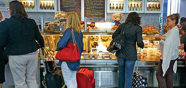 Dining airside: Food on the fly