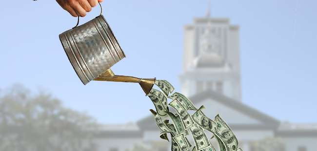 Florida lawmakers' 'sprinkle fund'