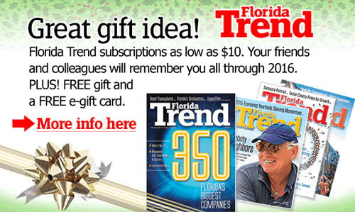 Great holiday gift idea from Florida Trend!
