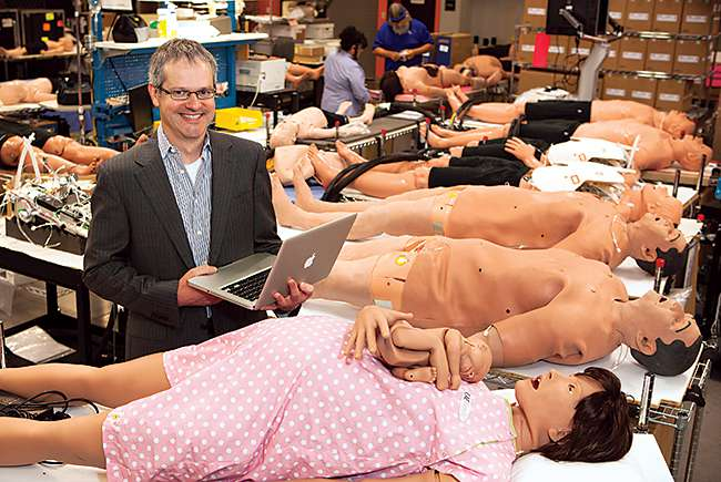 Flesh, blood and plastic: A look at patient simulators in medical training