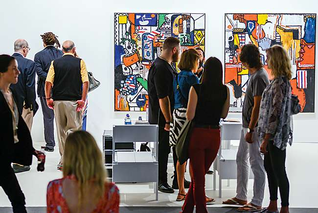 The art of the deal: Art fairs seeing record attendance in Miami