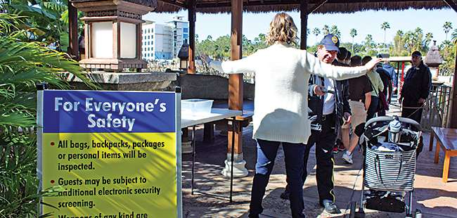 Measure of security: Orlando's theme parks move to thwart terrorist attacks