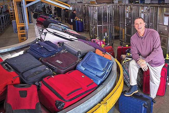 In the bag: Handling luggage on a grand scale