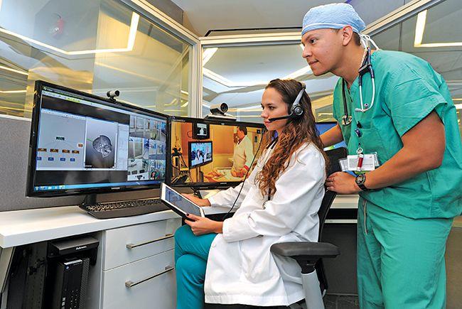 Video diagnostics via telemedicine