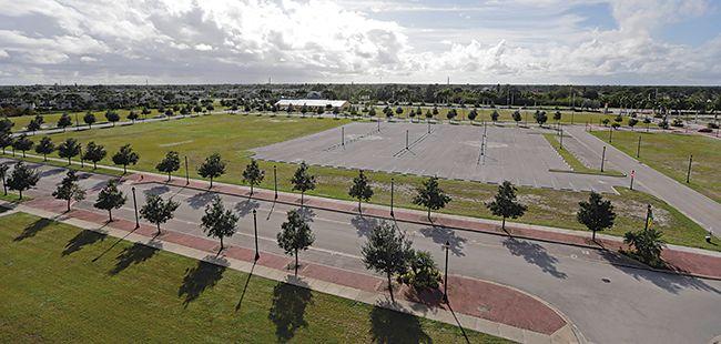 Dead center: Port St. Lucie City Center comes up empty