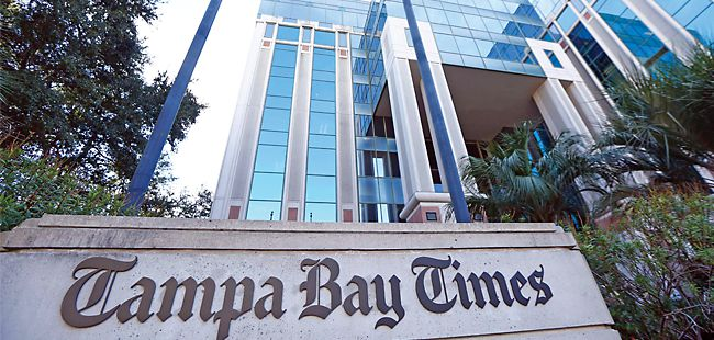 Economic realities: The Tampa Bay Times buys the Tampa Tribune