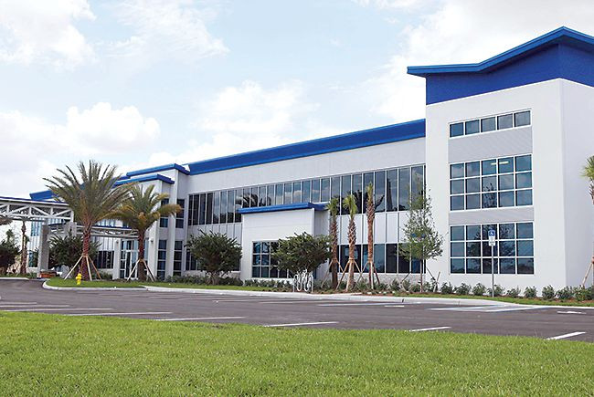 Arthrex manufacturing facility