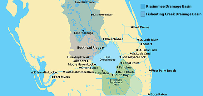 Kissimmee River Map