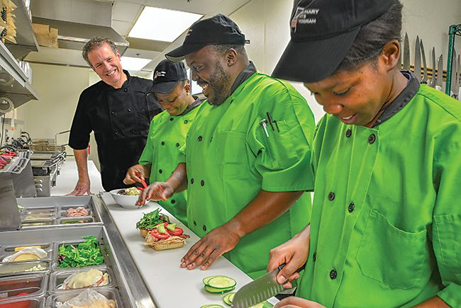 Turning the tables: Training the homeless for culinary careers