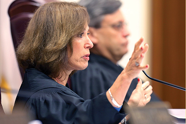 Justice Barbara Pariente: 'The Questioner'