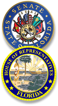 Florida Senate and House seals
