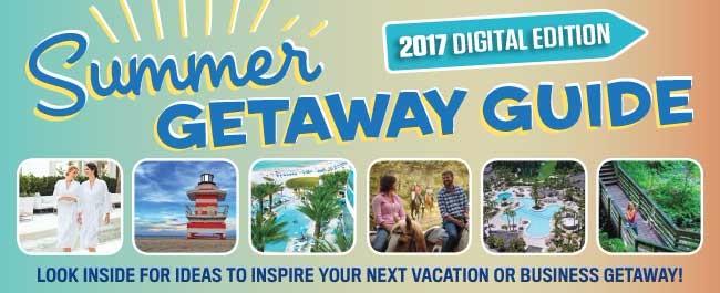 Summer Getaway Guide 2017