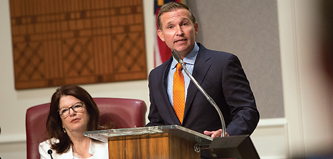 Profile of Jacksonville's Mayor Lenny Curry
