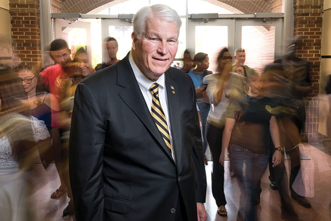 Strength in numbers: Profile of UCF President John Hitt