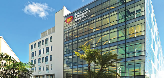 Nicklaus Children's Hospital Enhances the Care Environment with New Advanced Pediatric Care Pavilion