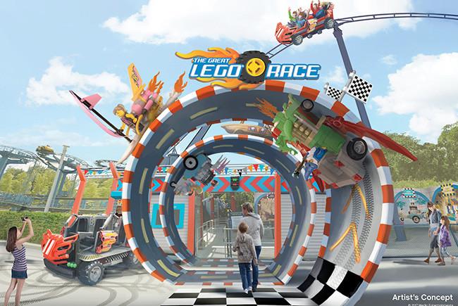 Great Lego Race