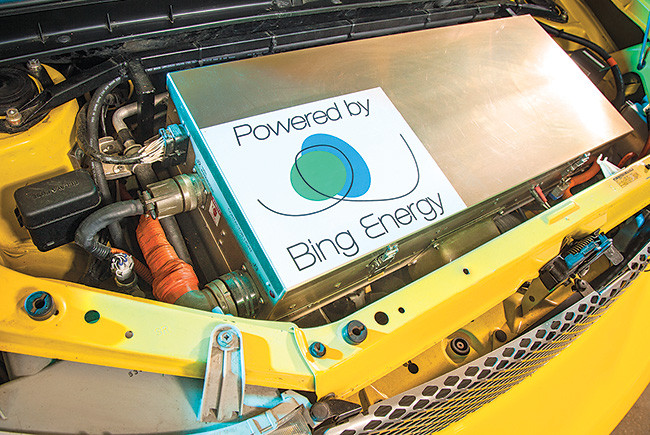 Bing fuel cells