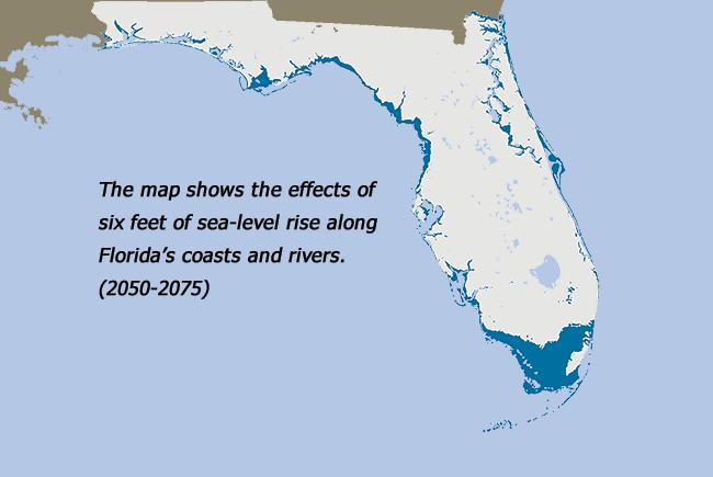 Sea level rise 50-75