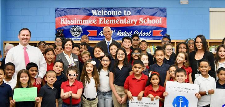 Gov. Scott pitches $12 billion budget investment in Florida education