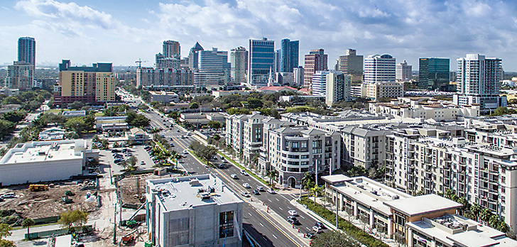 Florida commercial real estate industry ranks third in U.S.