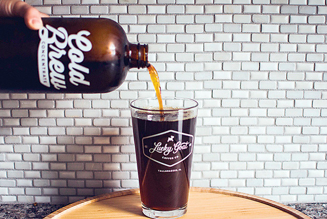 Lucky Goat's cold brew