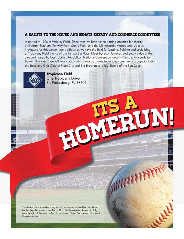 Baseball fundraiser RNC