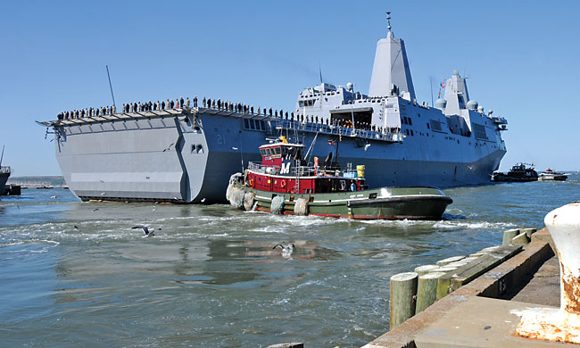 Jacksonville's Mayport Naval Station gets a safety net