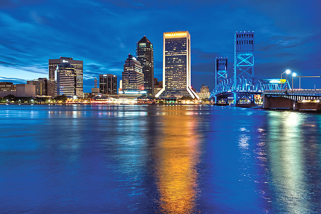Jacksonville Skyline