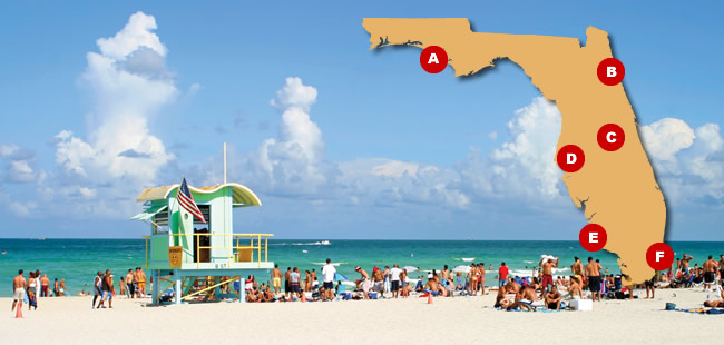 Hot Spots - Florida's Top Tour Stops