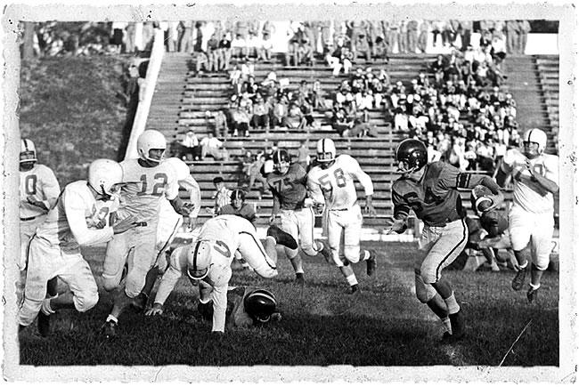 Stetson Football, 1956