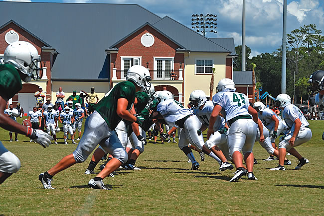 Stetson Football, 2012