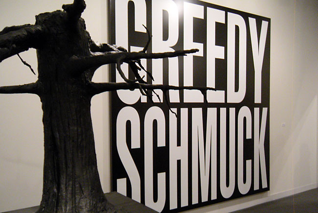 Untitled, (Greedy Schmuck)