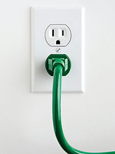 green plug