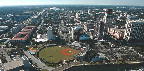 Tampa Bay Rays projected stadium site