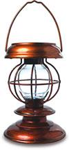 Hampton Bay's Solar Hurricane Lamp
