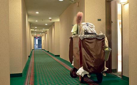 Hotel service cart