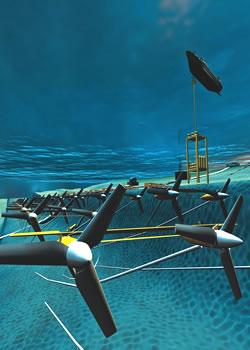FAU underwater turbine
