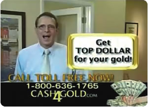 Cash 4 Gold on TV