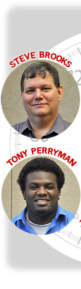Steve Brooks and Tony Perryman