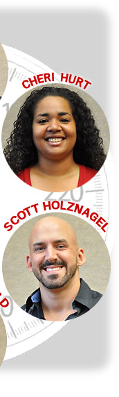 Cheri Hurt and Scott Holznagel